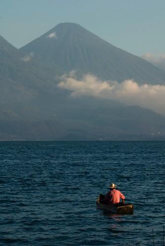 Fishing on Atitlan