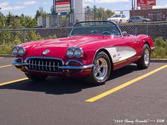 1960 Chevy Corvette (kenmojr) Tags: auto classic chevrolet car vintage muscle antique performance chevy hotrod vehicle corvette vette sportscar 1960