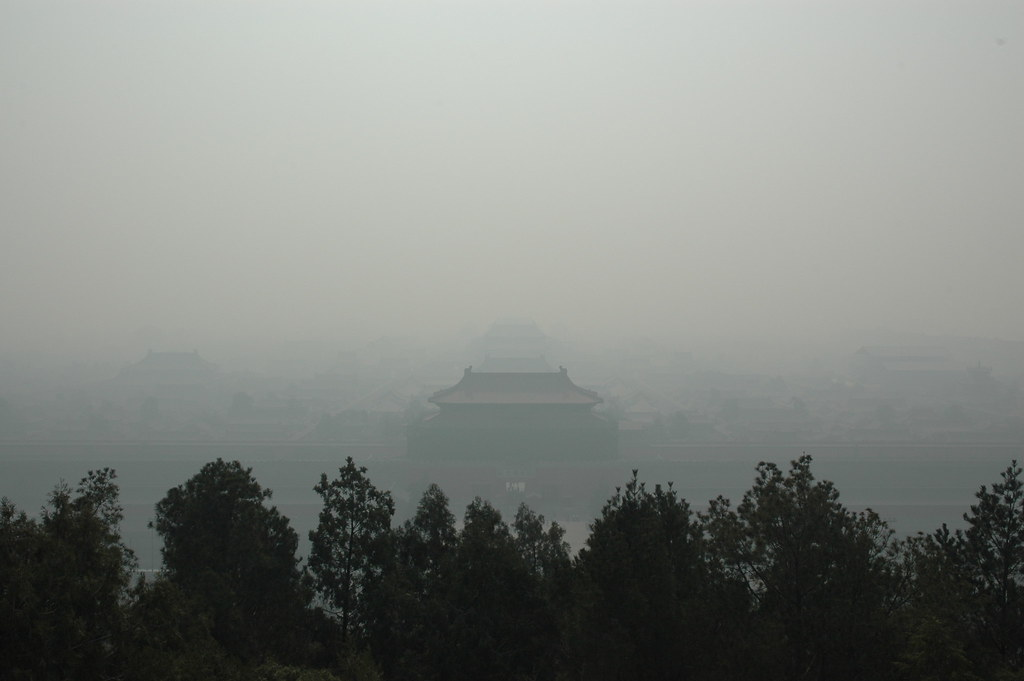 Forbidden City from Jingshan Park