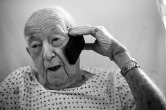 grandaddy (=sm=) Tags: blackandwhite bw florida jacksonville grandaddy iphone