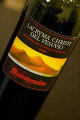 2005 Mastroberardino Lacryma Christi del Vesuvio