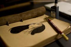 New Sketchbook for ink work