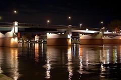 Untermain brüke (Gilmoth) Tags: river germany nocturnal frankfurt fiume main utata 2008 weekendproject frankfurtammain germania meno francoforte utata:project=nocturnal2