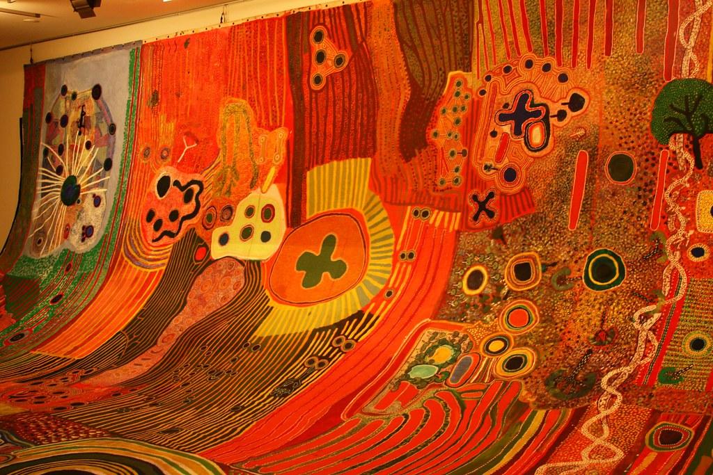 Ngurrara Land Claim Painting