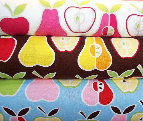 Alexander Henry Apples Pears Fabric