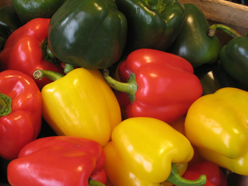 capsicums for sale at borough market, london!!!!