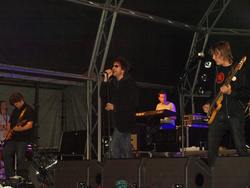 Echo and the Bunnymen play La Laguna in Tenerife
