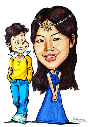 Caricature princess