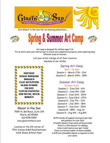 Glazin in the Sun Summer Camp