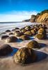 In the swell... (dezzouk) Tags: bowlingballbeach california lowtide schoonergulch