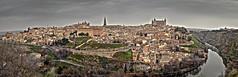 Panorámica de Toledo (Ciudad de las tres culturas) (kosicrist) Tags: cityscape panorama panoramic nikon 35mm españa toledo clouds cloud cloudscape landscape