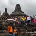 Borobudur in colour