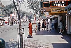Main Street Cinema, July 1960 (Tom Simpson) Tags: mainstreetcinema mainstreet mainstreetusa disney disneyland vintage vintagedisney vintagedisneyland 1960 1960s