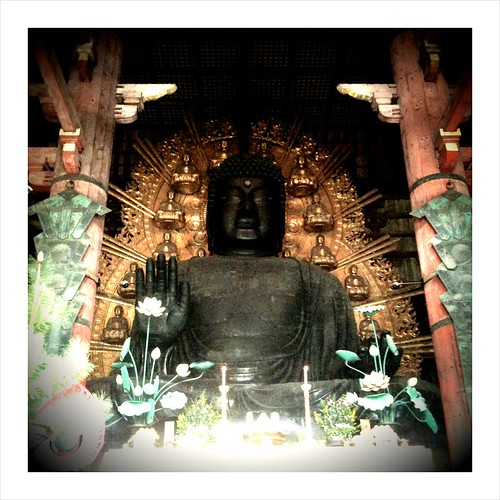 The largest Buddha statue in Japan