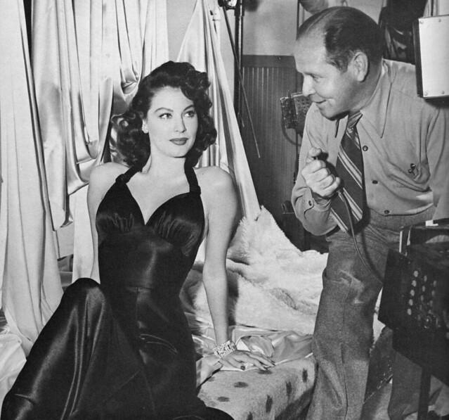 Ava Gardner and Clarence Bull