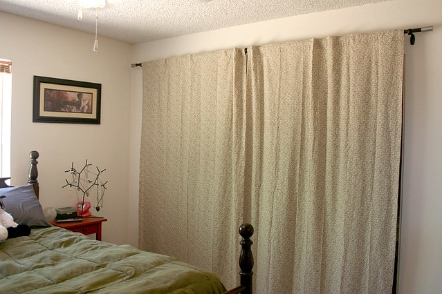 New Closet Curtains, Closed