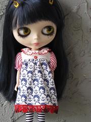 collared babydoll dress