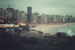 Beirut | Lebanon, March 2014 (Sebastien BERTRAND) Tags: city lebanon beach canon buildings seaside streetphoto beirut plage ville beyrouth liban photoderue eos40d canon40d fotomato sebfotomato sbastienbertrand sebastienbertrand