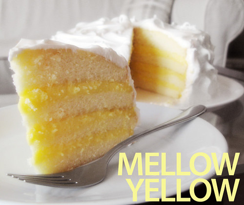 No Special Effects: Luscious Lemon Layer Cake
