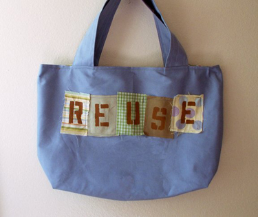 Reuse bag by Made By Tess