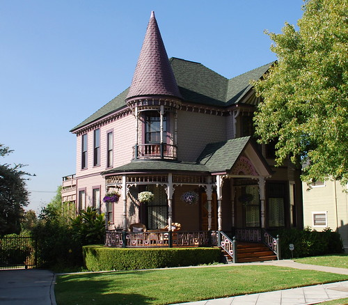 Victorian Style Haskins House Angelino Heights