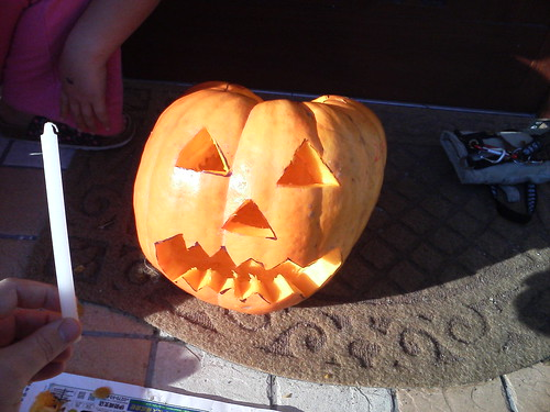 Picture of a bad Jack-o-Lantern