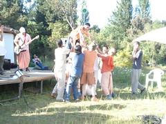 Pandavas (Centro Cultural VRINDA) Tags: puja mandal 2007 prema giri govardan