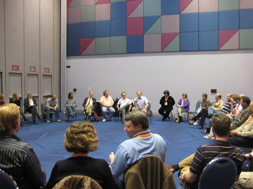 Gurteen Knowledge Cafe at KMWorld 2007