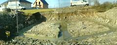 fondation coulée de béton