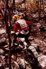 Debbie Evans (twm1340) Tags: competition event ama yamaha 1978 trials observed ntta natc observedtrials ty175 debbieevans longhornnational