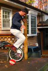 Learning to unicycle at last