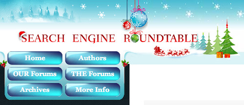 Search Engine Roundtable Holiday Theme
