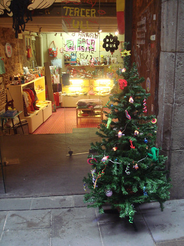 xmas tree at duduá
