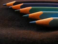 blueeeee :) (DanielaUrbano) Tags: blue cores fuji explorer amelie daniela lpis poulain anawesomeshot s5700