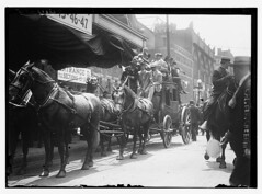 [California delegates on stagecoach at the 191...