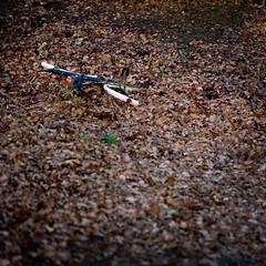 Bike (TimothyCochrane.com) Tags: bike photography leaf railway timothy cochrane atmophere