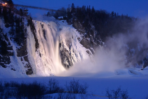 Falls in Quebec city