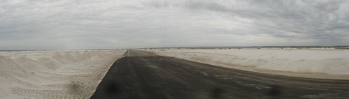 Santa Rosa Island road, Florida, USA