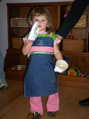 apron girl