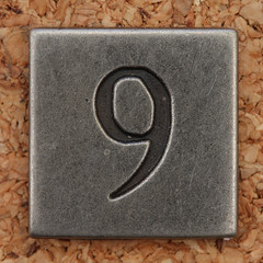 Pewter Number 9