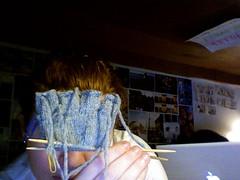 knucks! (Malroy) Tags: grey knitting knitty knucks