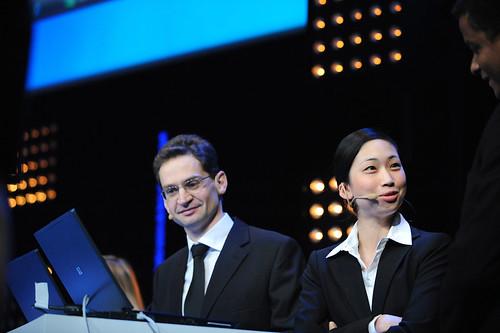 Patrick Guimonet et Na-Young Kwon (plénière jour 2)
