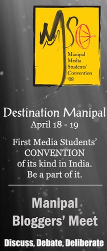 Manipal Media Students Convention 08