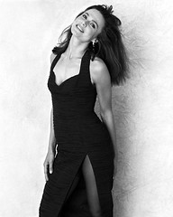 Lena Olin (barryhollywood) Tags: film monochromatic swedish actress lenaolin lassehallstromwifeof