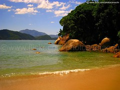 (:: through my eyes ::) Tags: ocean trip travel sea summer brazil sky praia beach nature brasil clouds strand canon landscape mar sand rocks paradise areia natureza playa viagem vero seashore pedras paraso trindade sd950 ixus960is ixus960 sd950is 2000is powershotsd950is