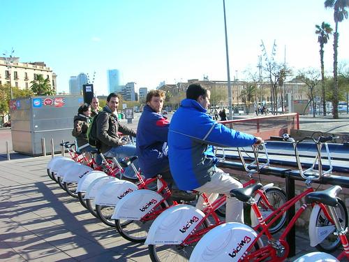 Las bicis de BCN