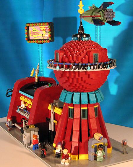 Futurama en Lego