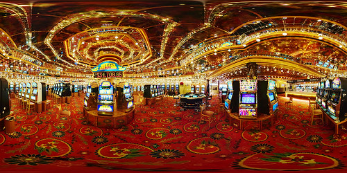 Casino Velden Panorama by geek7, on Flickr