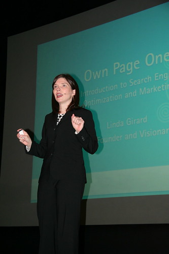 Linda Girard speaks on Search Engine Optimization