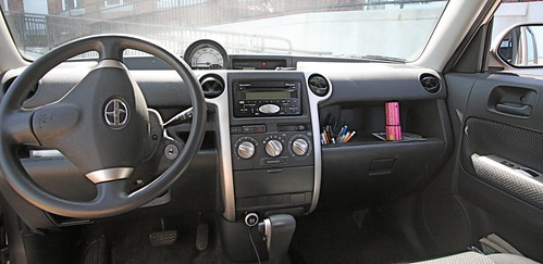 2004 Scion xB dashboard